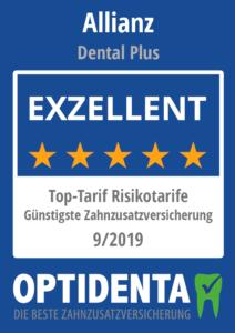 Günstigste Zahnzusatzversicherung 2019 Top Tarife Risikotarife Allianz DentalPlus